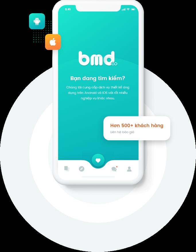 bmd chuyên làm ứng dụng di động