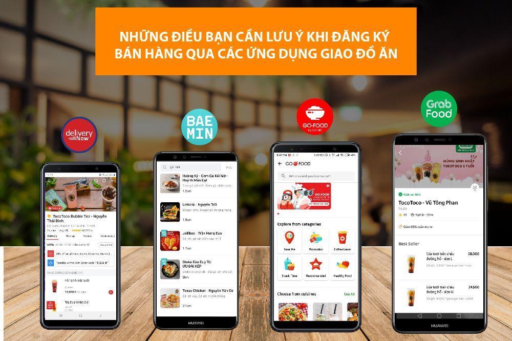 Dịch covid 19 và định hướng phát triển cho các app giao đồ ăn