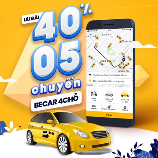 Một số khuyến mãi của các hãng xe công nghệ BeCar
