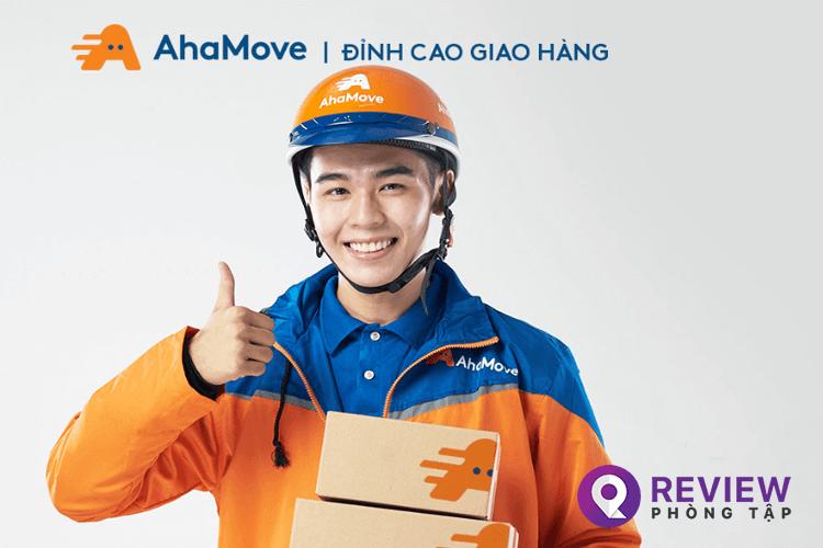 AhaMove tốc độ nhanh và chất lượng dịch vụ được đánh giá cao.