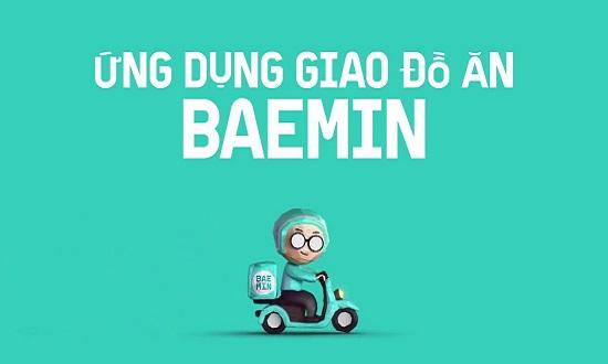 Ứng dụng giao đồ ăn Baemin