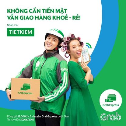 GrabExpress giao hàng siêu tốc.