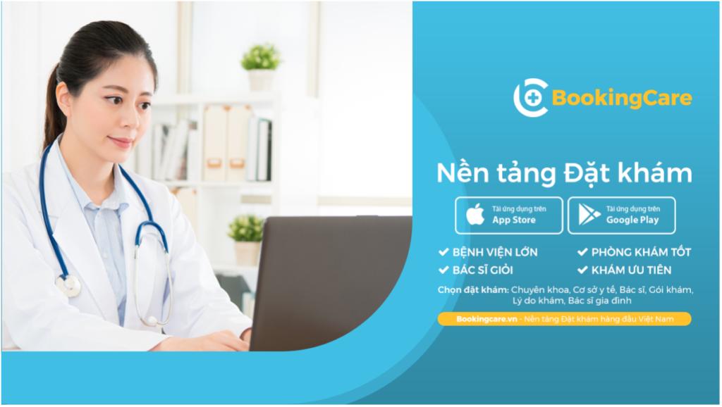 Ứng dụng đặt lịch hẹn khám BookingCare đem đến cho người bệnh và bác sĩ giải pháp tiện ích, giúp việc khám bệnh trở nên thuận tiện, dễ dàng, chính xác, hiệu quả.