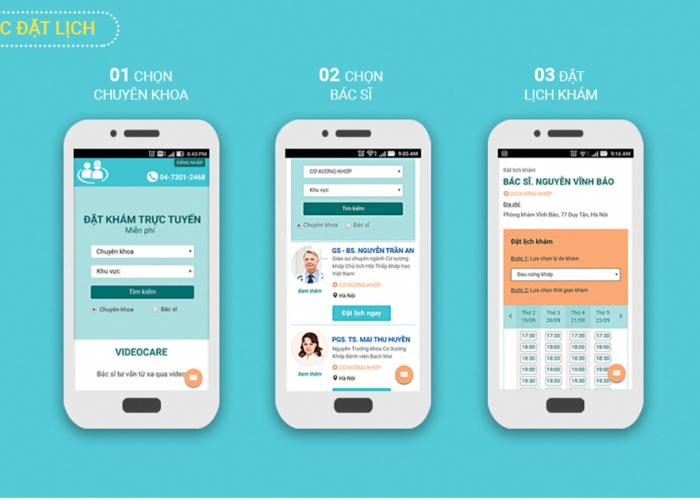 Ứng dụng đặt lịch hẹn khám BookingCare là gì? Muốn đặt lịch hẹn khám qua ứng dụng BookingCare phải làm sao?