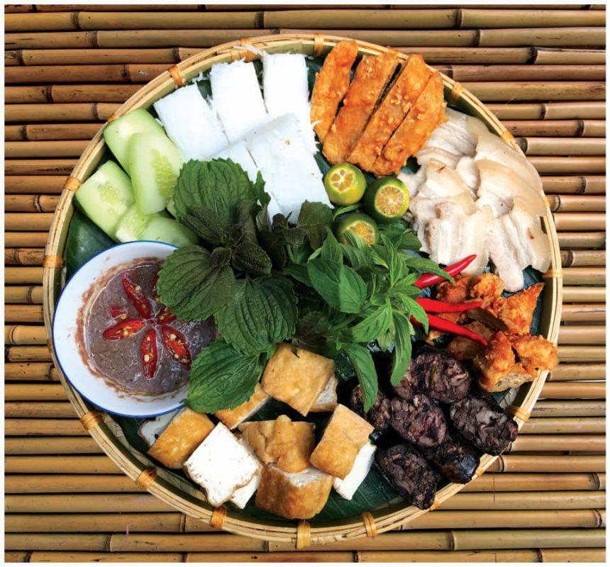 Bún đậu Việt Nam