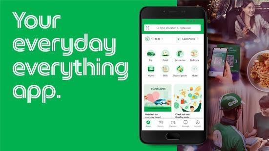 Điểm xuất phát là 1 Ứng dụng gọi xe ôm Grab đến nay với tập khách hàng đông đảo, ứng dụng này đã phát triển thành 1 siêu ứng dụng phục vụ đông đảo người dùng.