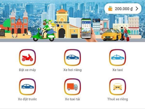 Ứng dụng gọi xe mới nhất GV-Taxi