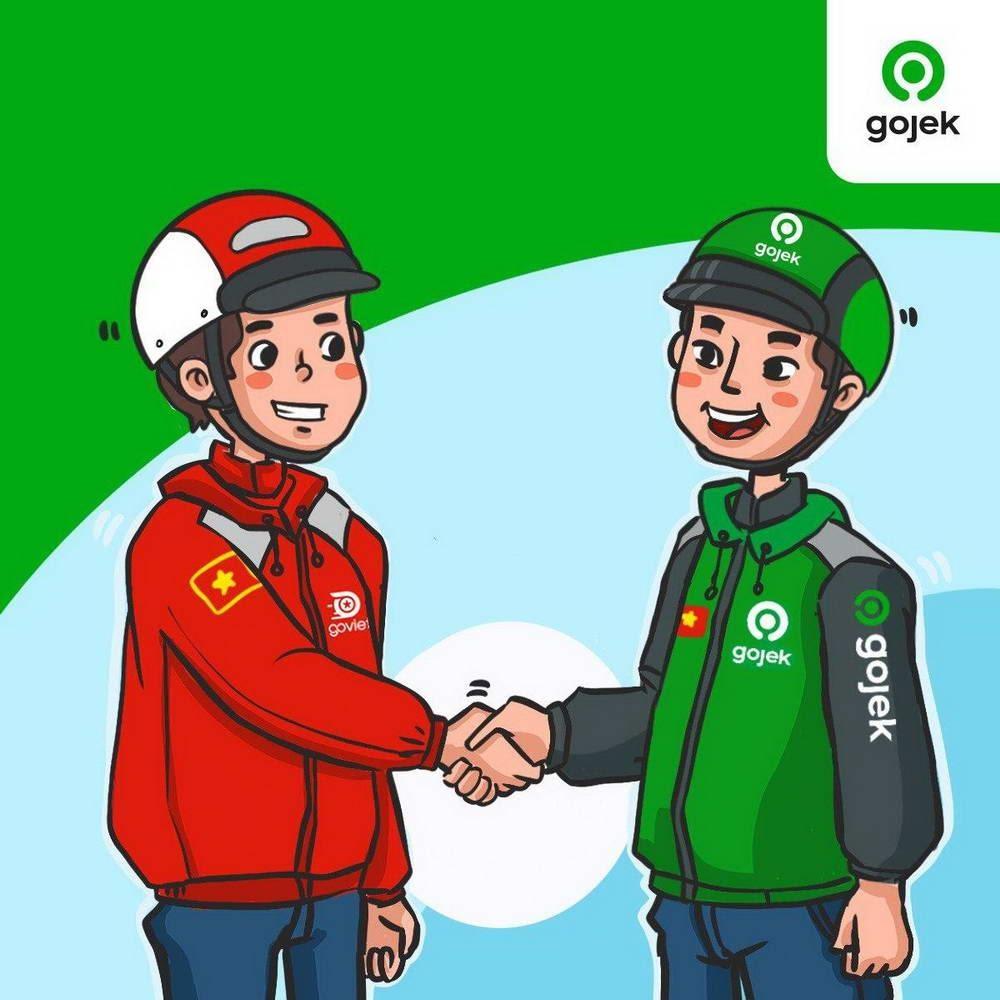 Ứng dụng gọi xe ôm Gojek được tiếp nối thành công của ứng dụng Go-việt, kết nối với mạng lưới tài xế và dịch vụ rộng khắp đông nam á của tập đoàn go-jek