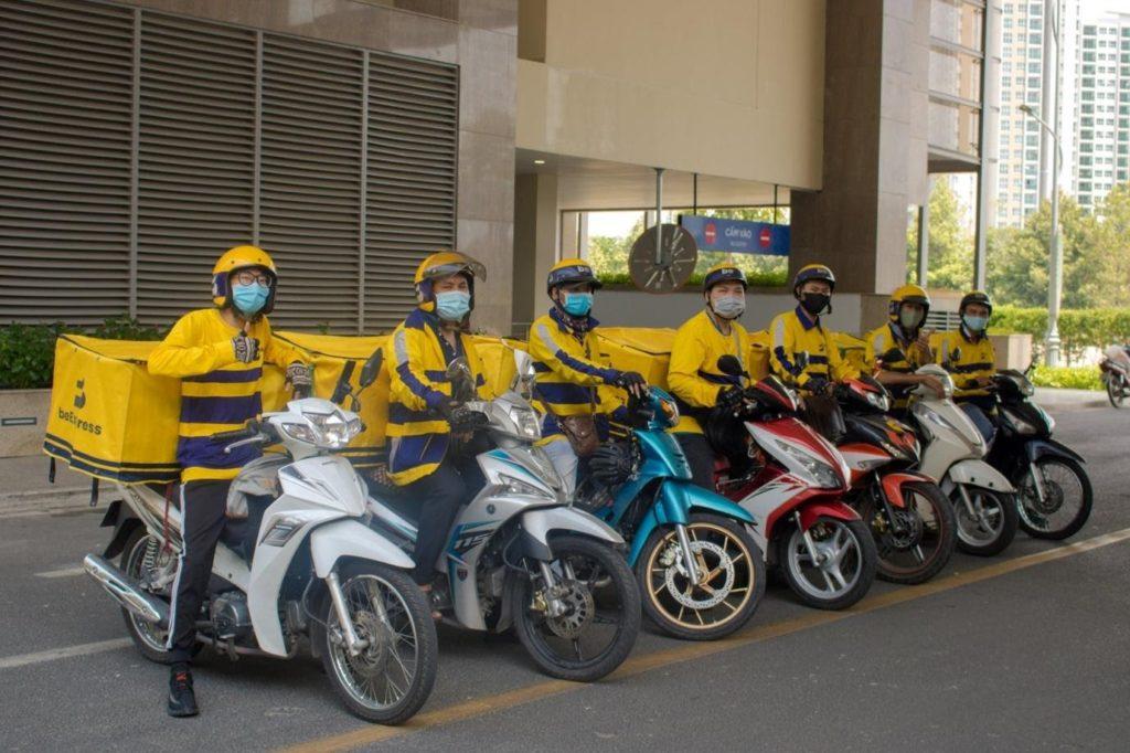 Be Bike - tài xế sẵn sàng phục vụ trong mùa Covid