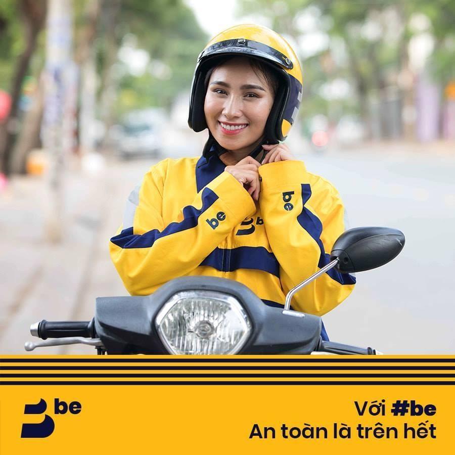 be ứng dụng gọi xe Việt - An toàn là trên hết