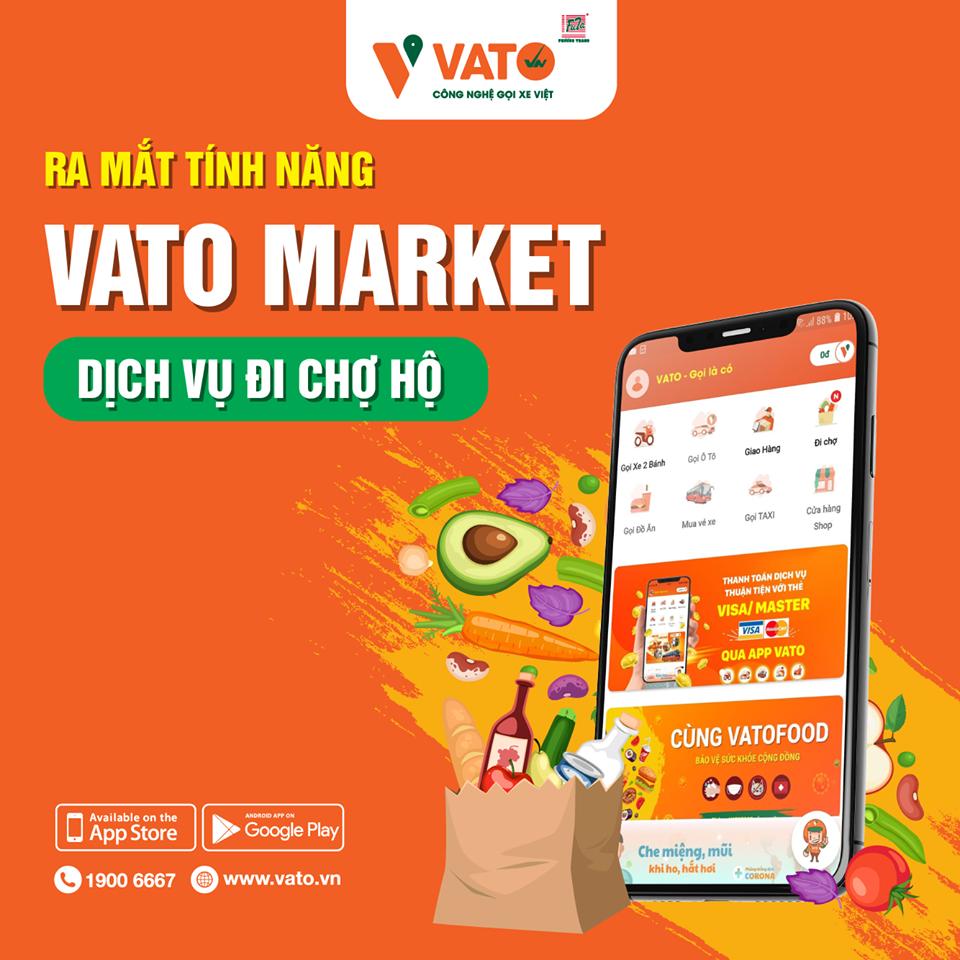 VATO Market - dịch vụ đi chợ hộ