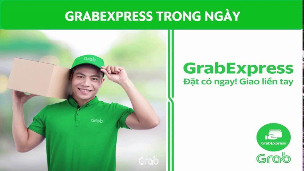 App giao hàng rẻ Grab Express với bảng giá dịch vụ