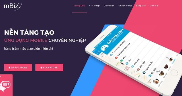 Top 3 nền tảng tạo app bán hàng online - MbizVietnam