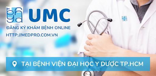 Đặt lịch hẹn Bệnh viện đại học y dược Thành phố Hồ Chí Minh qua ứng dụng UMC thật đơn giản và dễ sử dụng.