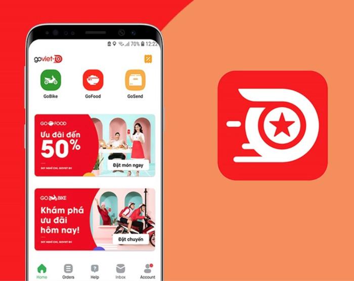 App giao đồ ăn miễn phí GoFood