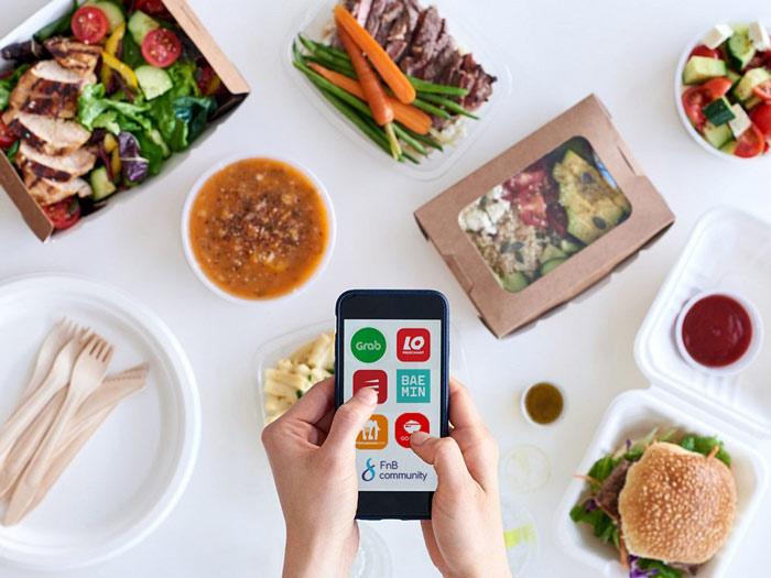 Review 5 app giao đồ ăn miễn phí