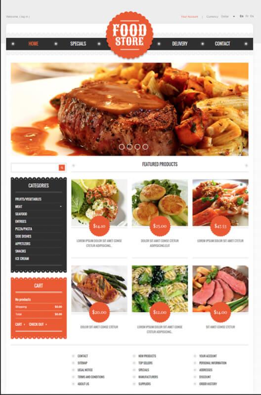 App giao hàng đồ ăn food store