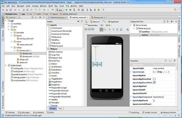 Bmd nhận viết ứng dụng cho Android