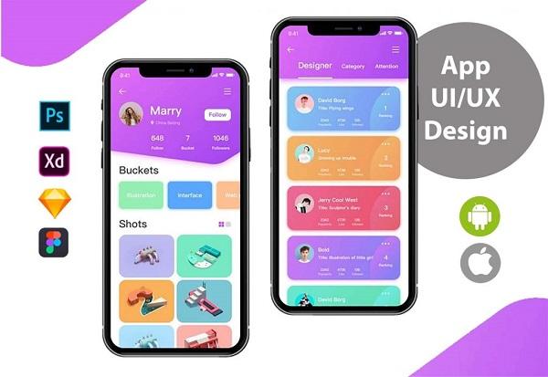 Bmd nhận thiết kế ứng dụng mobile