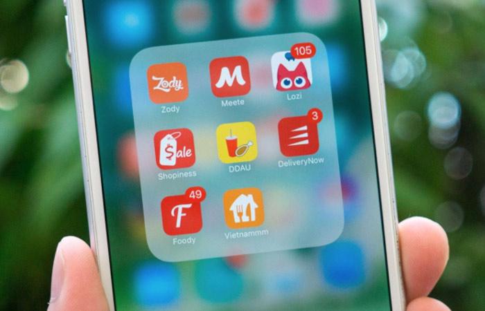 5 app giao đồ ăn miễn phí