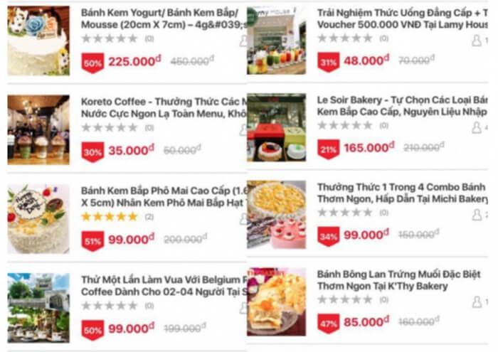 Chương trình khuyến mãi của app giao hàng đồ ăn