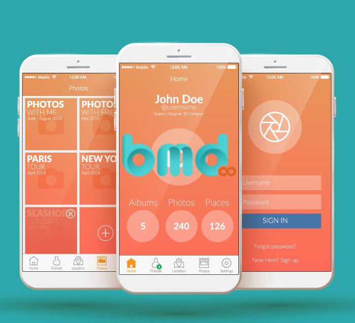 BMD - Công ty thiết kế app mobile chuyên nghiệp giá rẻ