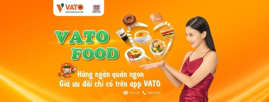 Dịch vụ giao đồ ăn và ứng dụng gọi xe Vato