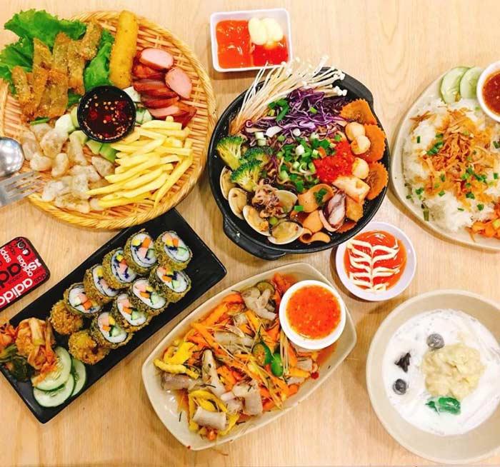 Dịch vụ giao đồ ăn tận nhà đa dạng món ăn