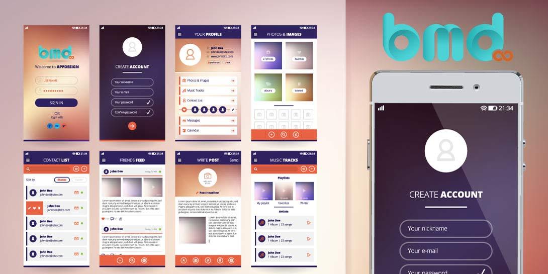 Hướng dẫn thiết kế app mobile đơn giản