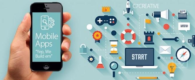 Nhận thiết kế app điện thoại