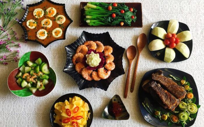 Đa dạng món ăn trên ứng dụng giao đồ ăn