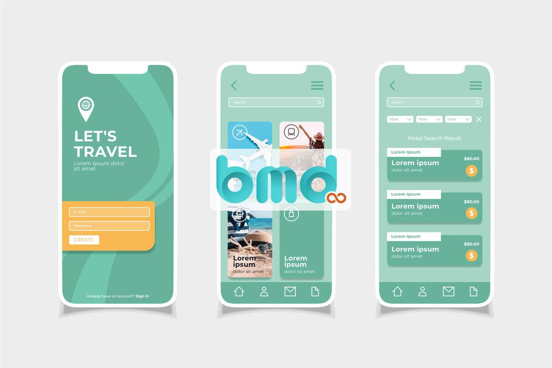Các phần mềm thiết kế giao diện app