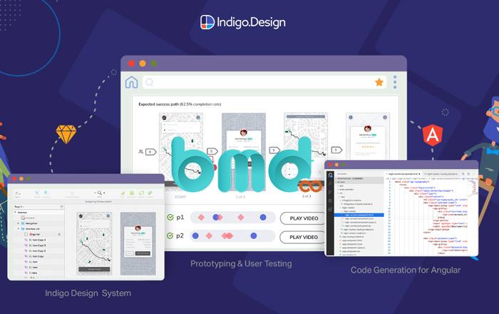 Phần mềm thiết kế app indigo.design