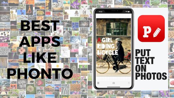 Phonto - App chèn chữ vào ảnh