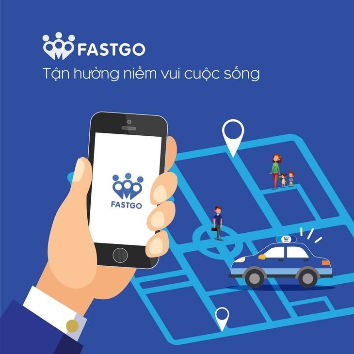 Ứng dụng gọi xe Fastgo