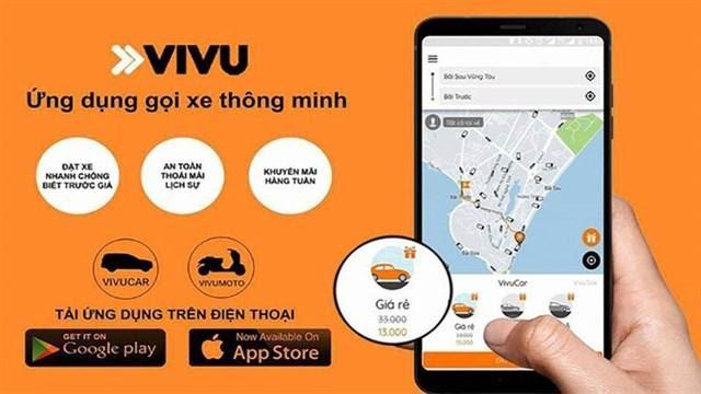 Ứng dụng gọi xe vivu