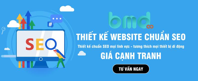 BMD Solutions thiết kế website chuẩn seo