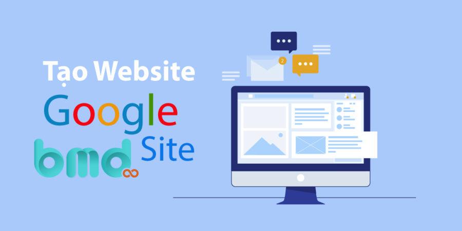 Hướng Dẫn Tạo Web Bằng Google Site Cực Đơn Giản