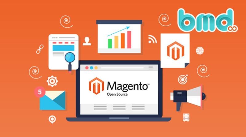 Phần mềm mã nguồn mở thiết kế website Magento