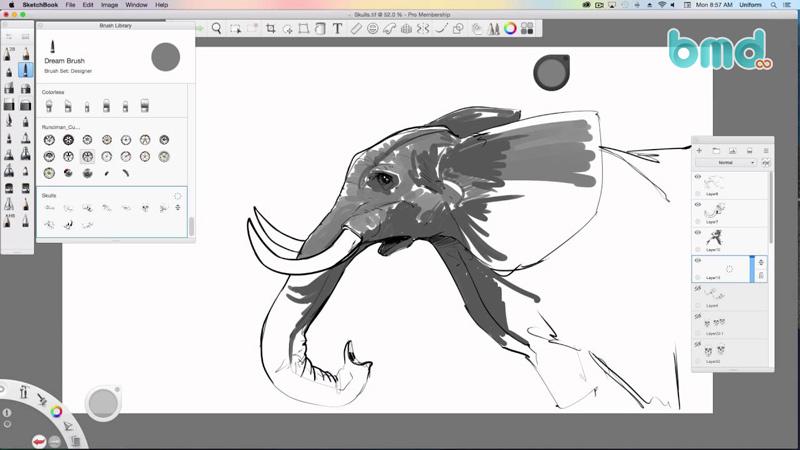 Phần mềm chỉnh sửa ảnh Autodesk SketchBook