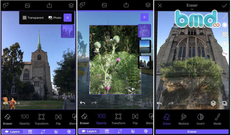 Phần mềm chỉnh sửa ảnh Enlight Photofox