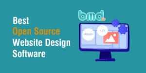 Phần mềm mã nguồn mở thiết kế website
