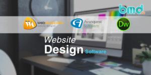 Các phần mềm thiết kế web kéo thả