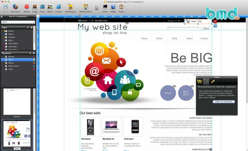 Phần mềm WebAcappella
