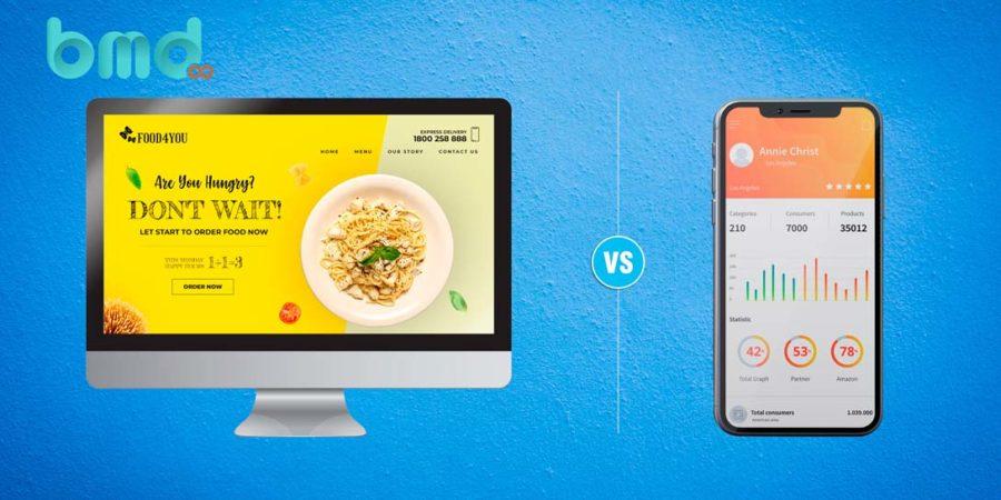 Thiết kế trang web và mobile app
