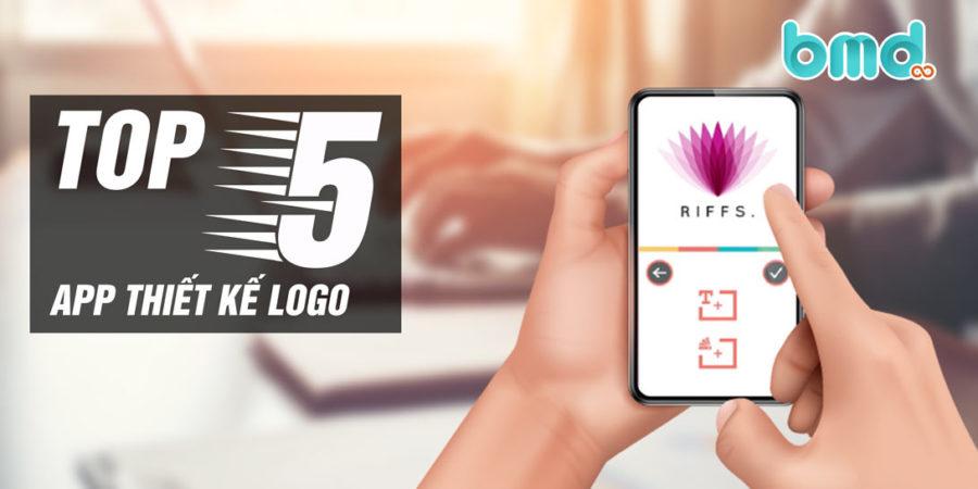 App thiết kế logo