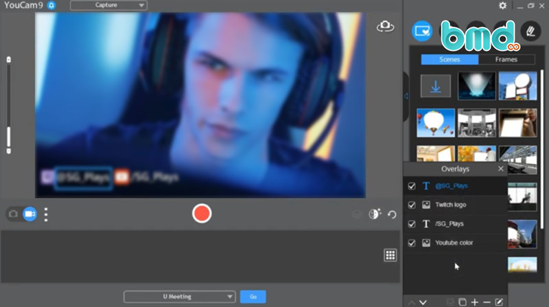 Phần mềm chụp màn hình CyberLink YouCam