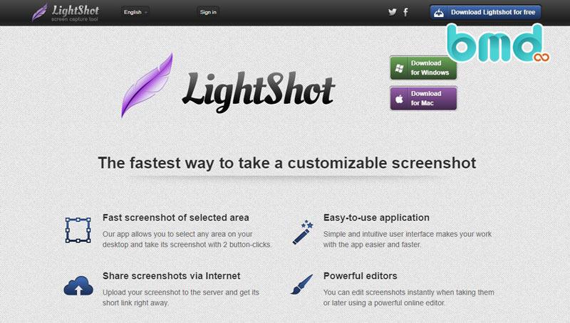 Công cụ LightShot