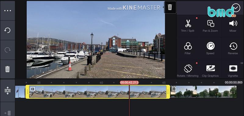 Ứng dụng KineMaster