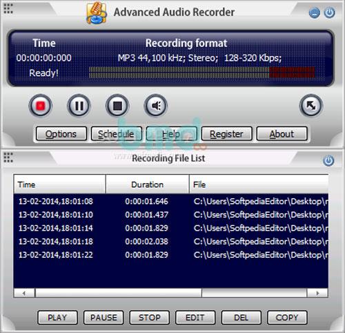 Advanced Audio Recorder